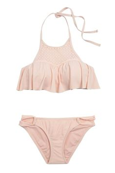 06 pink flounce bikini target