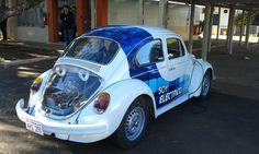 coches electricos, motor vehiculo electrico, conversiones,empresa de carros electricos: Exitosa conversión de un vehículo eléctrico en Paraguay.
