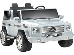 Rev up the fun with this realistic Mercedes ride on car, Licensed with authentic Mercedes Benz details. The ultimate luxury SUV on the road, this toy is a Mercedes G55, Mercedes Benz Trucks, Benz Suv, Rc Cars And Trucks, Suv Trucks, Dirt Bikes For Kids, Carl Benz, Automobile, Pocket Bike