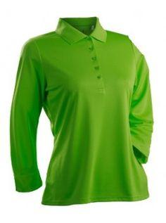 8a8489cc429e2 Nancy Lopez Women s Grace Three-Quarter Sleeve Golf Polo – Plus-Size