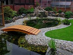 Home ponds can transform any outdoor living space into a serene paradise, creating a place to unwind, relax and enjoy time with family and friends, right in your own backyard. With some basic backyard…MoreMore  #WaterGarden