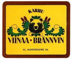Oy Alkoholiliike Ab:n väkevät etiketit