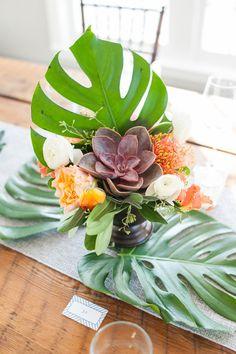 Tropical arrangement.
