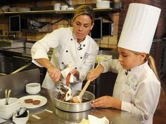 """Cat Cora:  The """"Iron Chef"""" is showcasing her culinary skills at several restaurants, like Kouzzina in Disney World, CCQ (Cat Cora's BBQ) in California and Cat Cora's Kitchen in Houston, Salt Lake City and San Francisco International Airport."""