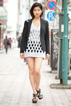 Tokyo Street Fashion - Alexander Wang Knit Sweater