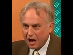Atheist Richard Dawkins debating the bible Great Chain Of Being, Secular Humanism, Richard Dawkins, Bible Truth, Stephen Hawking, Awkward Moments, Atheism, Christianity, Einstein