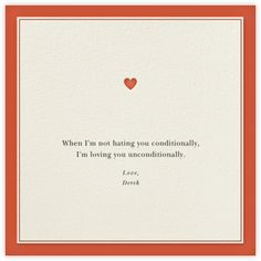 Conditions of Love - Paperless Post