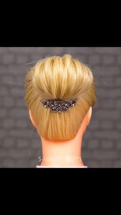 Easy And Beautiful Hairstyles, Easy Bun Hairstyles, Braided Hairstyles Tutorials, Messy Hairstyle, Prom Hairstyles, Competition Hair, Simple Prom Hair, Hair Upstyles, Natural Hair Styles