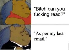 Funny Vid, Hilarious, Winnie The Pooh Memes, Workplace Memes, Funny Images, Funny Pictures, Image Memes, Know Your Meme, Verse