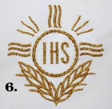 Znalezione obrazy dla zapytania haft krzyżykowy wzory na i komunię