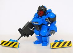 SS: Recreate Project MECHA Appleseed: Police Suit Ironsniper