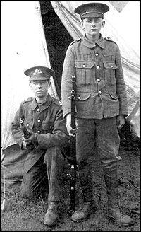 WW1 Lancashire boy soldiers