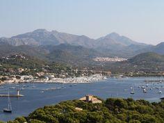 Splendid, sunny south east facing villa with panoramic sea views of Port Andratx