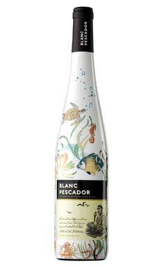 Blanc Pescador, Vino Blanco joven, Macabeo 50%, Xarel-lo 25%, Parellada 25% (D.O. Empordá, Cavas del Ampurdán) [agosto 2016]