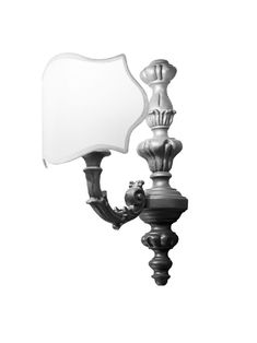 Vintage Bad Wandleuchte mit verschiedenen Lampenschirmen badelaedchen