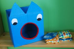 Homemade bean bag toss is a great way to help little ones focus the desire to throw everything. If you have no sewing skills you can always just use balled socks to throw.