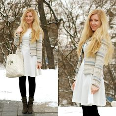White and Blue (by Ola Węglarz) http://lookbook.nu/look/4609631-White-and-Blue
