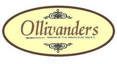 olivander wand box label