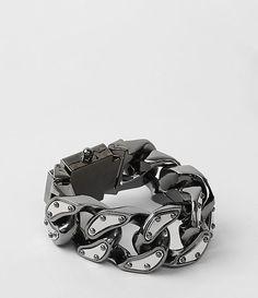 Womens Ariel Bracelet (Hematite) | ALLSAINTS.com