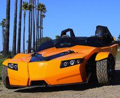 Epic Torq Roadster three wheeled EV
