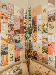 Desert Dreamer Boho Aesthetic Wall Collage Kit, Teen Bedroom, Photo Collage Kit, VSCO, Girl Room Decor, Dorm Decor, Wall Collage Kit
