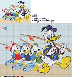 knitting and crochet holidays uk Cross Stitch Baby, Cross Stitch Charts, Baby Motiv, Disney Cross Stitch Patterns, Disney Cartoon Characters, Disney Stitch, Baby Drawing, Disney Crafts, Minnie