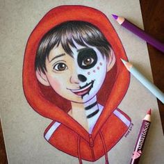 53 Ideas For Disney Art Drawings Sketches Artworks Disney Character Drawings, Disney Drawings Sketches, Cute Disney Drawings, Art Drawings Sketches Simple, Pencil Art Drawings, Colorful Drawings, Cartoon Drawings, Cool Drawings, Drawing Cartoon Characters