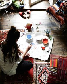 Take time to explore your creativity #becreative #makers #art