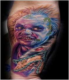 Scary Batman Movie Tattoo = Uh no - beetlejuicd
