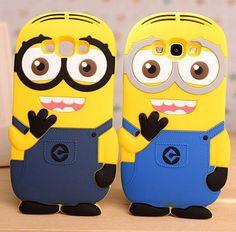 3D Cartoon Samsung J1 E5 E7 Despicable Me 2 Minions Cases For Samsung Galaxy J1 J5 J7 A3 A5 A7 A8 Phone Case Back Cover
