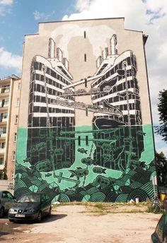 M-City - Poland  #streetart #design #street #art