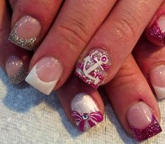 Pink+Anchor+by+crystal_marie+-+Nail+Art+Gallery+nailartgallery.nailsmag.com+by+Nails+Magazine+www.nailsmag.com+#nailart