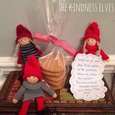 "Kindness Elves - 25 ideas for an alternative to ""Elf on a Shelf"""