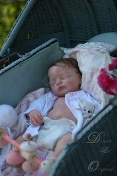 ◆◆donna Lee Originals◆◆full Body Elsie Mae Solid Silicone Baby Reborn Doll | eBay