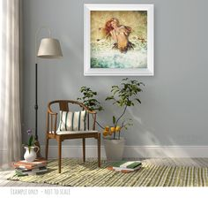 Le Roi du Mensonge/The King of lies Painting Shops, Mermaid Art, Vinyl Lettering, Vinyl Wall Decals, Wall Stickers, Paintings For Sale, Sweet Home, Room Decor, Art Prints