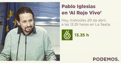 En una hora tenemos a Pablo Iglesias en La Sexta. A ver que opina de Felipe González.