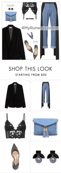 """#MyRunwayLook"" by meyli-meyli ❤ liked on Polyvore featuring Zadig & Voltaire, Hellessy, Fleur du Mal, Urban Expressions, Paul Andrew, Witchery, Betsey Johnson and MyRunwayLookIs"