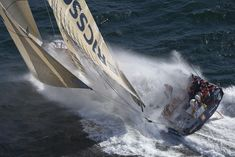 The Volvo Ocean Race. 11 crew members race together in an around the world sailing race that pits man against the sheer power of our oceans.
