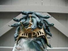 Medusa Headpiece and Costume