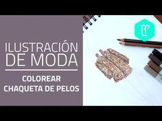 Colorear una chaqueta de pelos paso a paso - YouTube