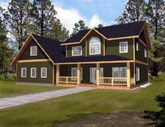 Country   House Plan 87188