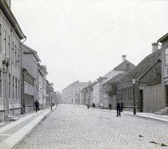 > Rush hour in Jönköping. 1890