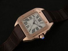 Rose Gold Cartier Santos