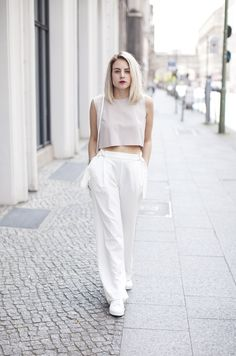 Wearing a Crop Top and showing some skin! - Fashion Hoax | Creators of Desire - Fashion trends and style inspiration by leading fashion bloggers