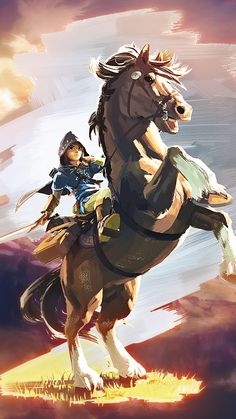 Legend of Zelda: Breath of the Wild - Artwork The Legend Of Zelda, Legend Of Zelda Breath, Video Game Art, Video Games, Image Zelda, Fan Art, Link Zelda, Zelda Hd, Breath Of The Wild