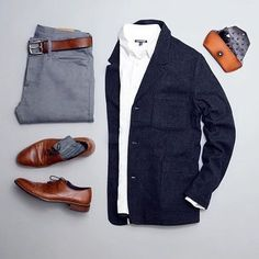 One great thing about men's fashion is that while most trends come and go, men's wear remains stylish and classy. However, for you to remain stylish, there are men's fashion tips you need to observe. Fashion Mode, Look Fashion, Daily Fashion, Mens Fashion, Guy Fashion, Petite Fashion, Fashion Fashion, Mode Outfits, Casual Outfits