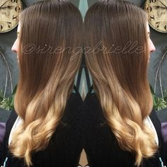 A little balayage from on my sister in law, this was her first time coloring her hair in YEEEEAAAARS!  #sirensalon #hairbysirengabrielle #asirenslifeforme #washington #oregon #vancouver #portland #pdx #vancouverhair #portlandhair #pdxhair #ombre #bombre #sombre #filteredcolor #balayage #hairpainting #joico #davines #beautylaunchpad #americansalon #modernsalon #confessionsofahairstylist #btcpics #behindthechair #stylistsconnect #hef #styleseat