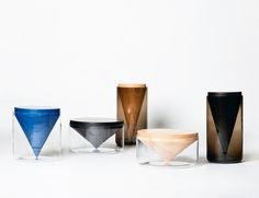 Apex tables by Hunting & Narud on sightunseen.com
