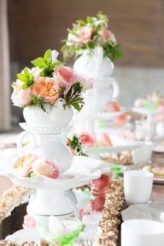 Bridal shower tea party that is TO DIE FOR gorgeous