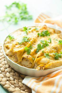 Gluten Free Chicken Enchiladas Recipe on MyRecipeMagic.com